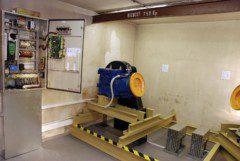 strojovna lanového výtahu