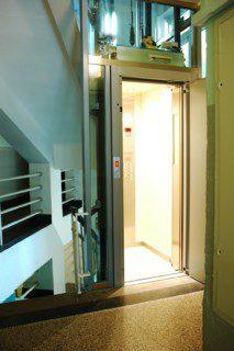 kabina lanového výtahu