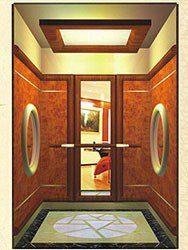 kabina atypického výtahu