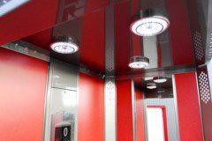 strop kabiny výtahu