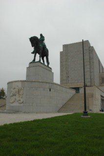 památník a socha Žižky