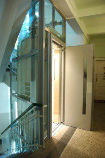 modernizace výtahu v činžovním domě