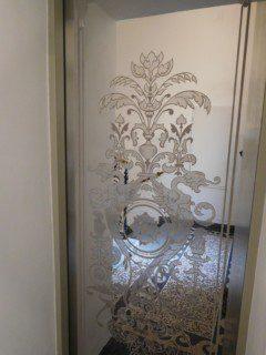 achetní dveře secesní vzor