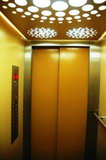 kabinové dveře teleskopické