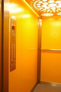 výtah v panelovém domě