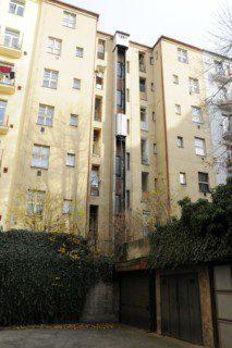 instalace šachty a výtahu v exterieru