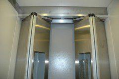 skládací dveře kabinové BUS