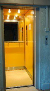 modernizace výtahu ve zděné šachtě