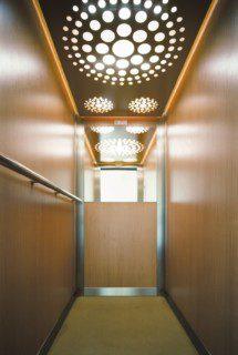 kabina osobního výtahu