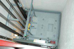 technologie lanového výtahu