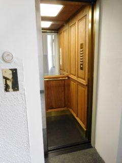 dřevěná kabina